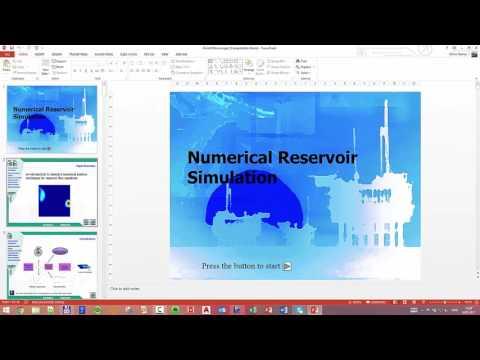 10 - Brief on reservoir simulation - flow equilibrium
