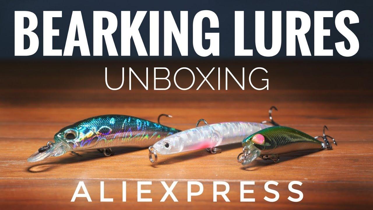Unboxing Aliexpress Señuelos BEARKING, Minnow-S42, JIKS-S82 / #6