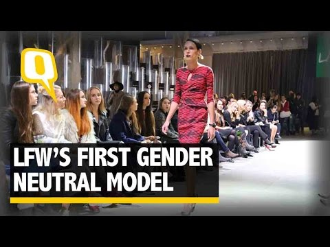 The Quint:At India's Fashion Week, A Gender Neutral Model Is Set  To Walk The Ramp