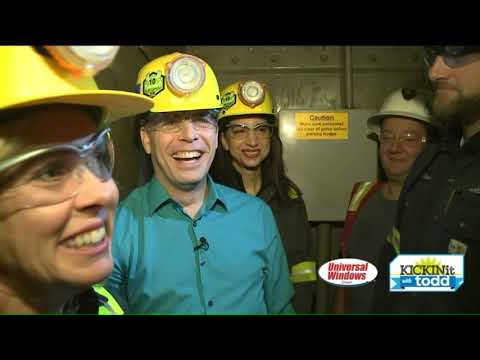 Fox 8`s Todd Meany Visits The Morton Salt Mine