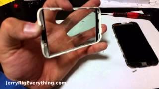 motorola moto x just the glass screen replacment video
