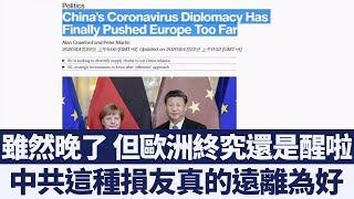 「病毒外交」成拙!義連署索賠 歐洲遠離中共