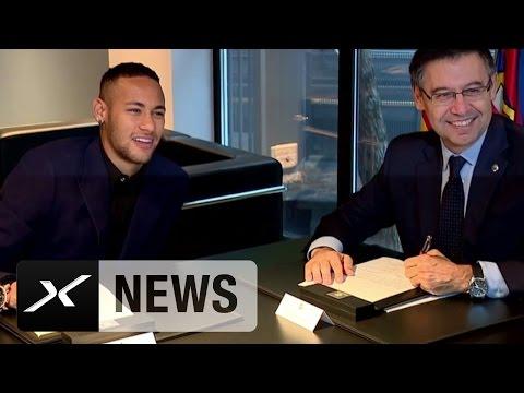 Bis 2021! Neymar verlängert beim FC Barcelona | Abfuhr an Manchester United und Paris Saint-Germain