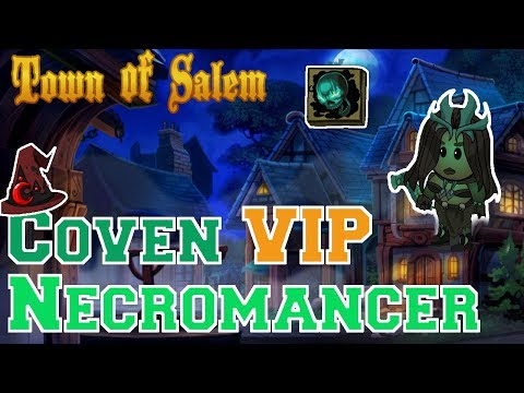 Coven VIP Mode Necromancer | Town of Salem Coven Gameplay