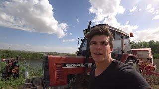 Tarım Vlog #26    Porsuk Kenarında Ekim Yapmak, Böyle tarlalarda çalışmaktan zevk almayan var mı?