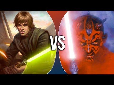 VS | Luke Skywalker vs Darth Maul