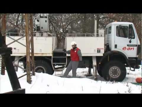 E-ON téli hibaelhárítási bemutató