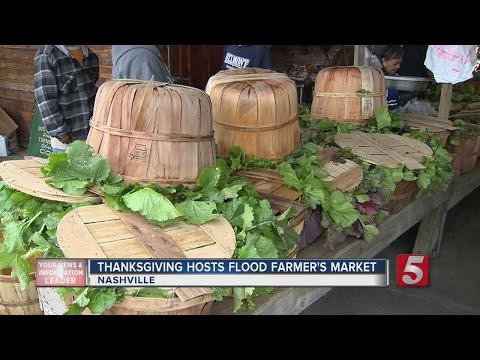 Framer's Market Open To Last Minute Thanksgiving Shoppers