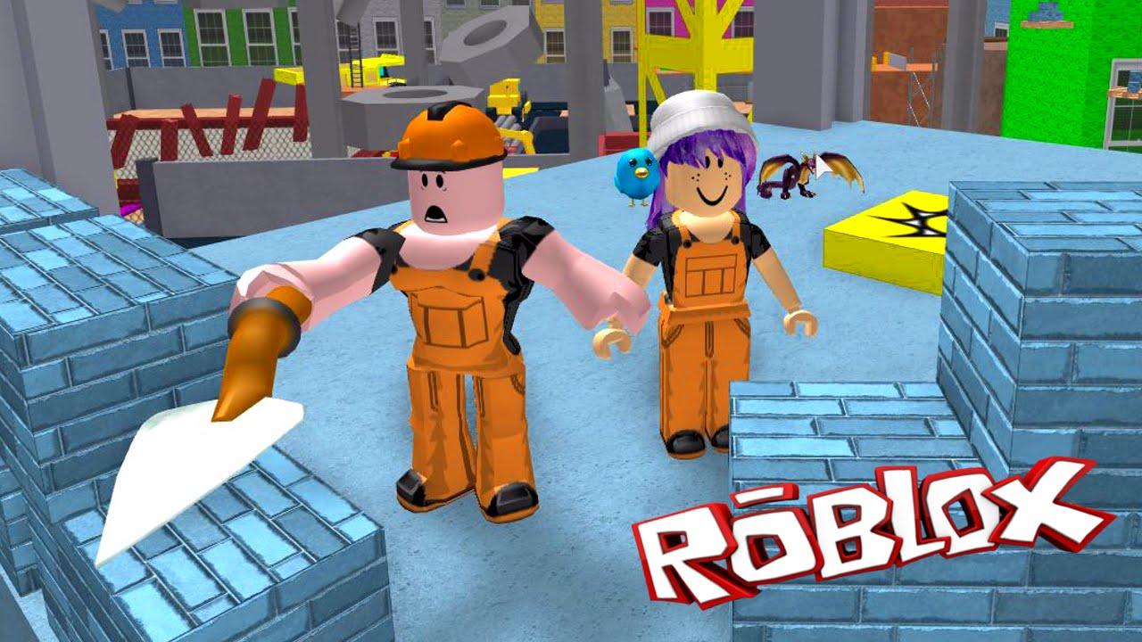 Roblox Escape The Construction Yard Obby Radiojh Games
