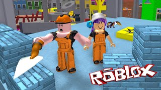 ROBLOX ESCAPE THE CONSTRUCTION YARD OBBY | RADIOJH GAMES