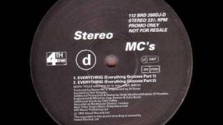 Stereo MC's - Everything (Everything Grooves Part 1)