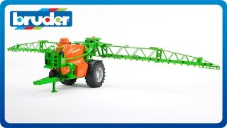 Bruder Toys Amazone UX 5200 Trailed Field Sprayer #02207