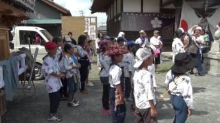 中瀬天神社祭典2013 お囃子コンテスト 六区連(馬鹿囃子)