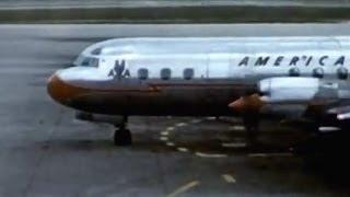 "American Lockheed L-188A Electra - ""Arrival Detroit"" - 1959"