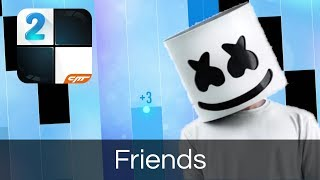 Marshmello & Anne-Marie - Friends - Piano Tiles 2