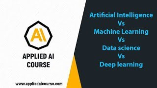 Artificial Intelligence Vs Machine Learning Vs Data science Vs Deep learning