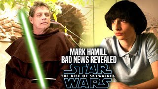 The Rise Of Skywalker Mark Hamill Bad News Revealed! (Star Wars Episode 9)
