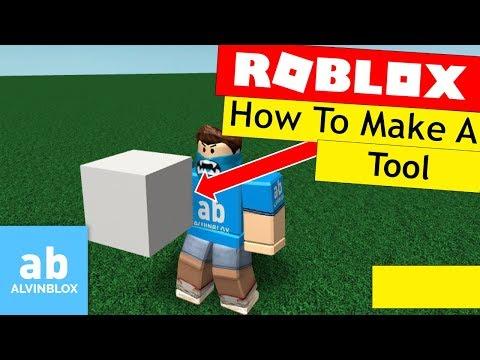 Roblox Tool Tutorial