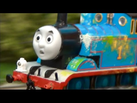 Thomas  & Friends The Great Bridge Jump! The Great Race Remake HO/OO