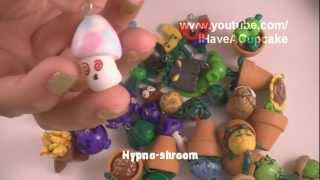 Plants Vs Zombies Polymer Clay Charm Collection thumbnail
