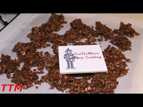How To Make No Bake Chocolate Oatmeal Cookies~Easy Cookie Recipe