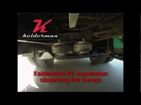 Kelderman Air Suspension medium duty 2-stage RV kit