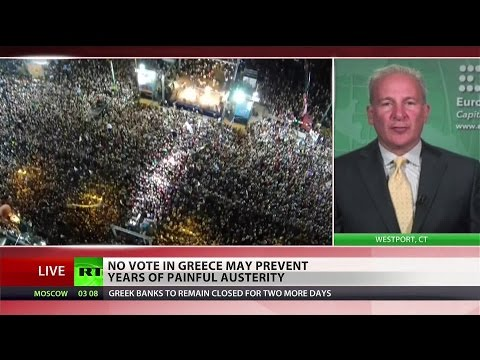 EU cannot allow Greece to hold everyone hostage – Peter Schiff