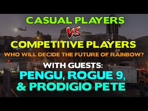 Casual Vs Competitive Players || A Discussion With Guests: Pengu, Rogue 9, & Prodigio Pete
