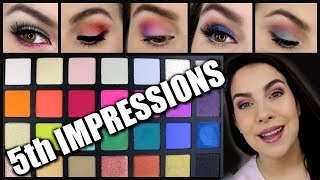 5TH IMPRESSIONS - Week of Bright Eyes | Sephora Pro Editorial Palette