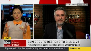 Rod Giltaca on CBC with Natasha Fatah Bill C-21