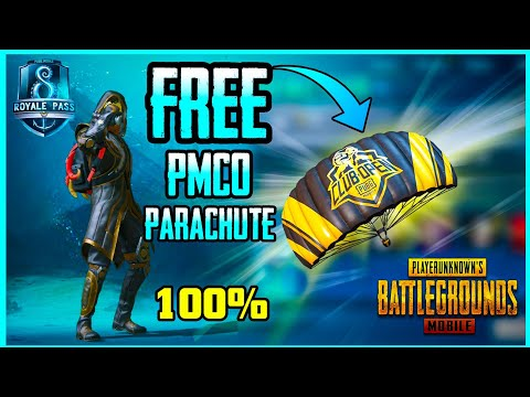 How To Get Free Pmco Themed Parachute Skin In Pubg Mobile Season 8