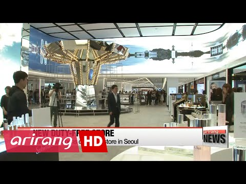 Shinsegae opens duty-free store in Seoul on Wednesday