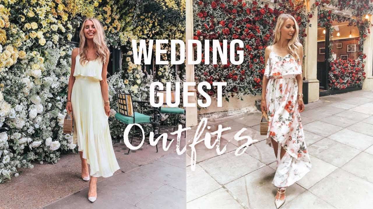 SUMMER WEDDING GUEST OUTFIT