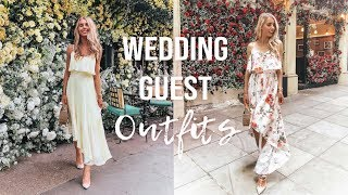 WHAT TO WEAR TO A WEDDING | SUMMER WEDDING GUEST OUTFIT IDEAS | 5 DO'S & DONT'S OF WEDDING ATTIRE
