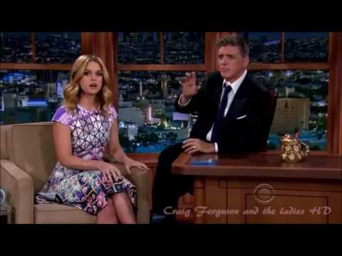 Gorgeous Alice Eve British vs American Accent   Making Fun of Craig