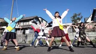 [4K]愛知江南短期大学よさこいサークル飛鳥~asuka~ 2016バサラカーニバル 浪花駐車場会場
