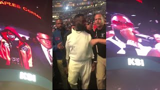 """Rick Ross and Lil Baby perform """"Down Like That"""" for KSI Entrance"""