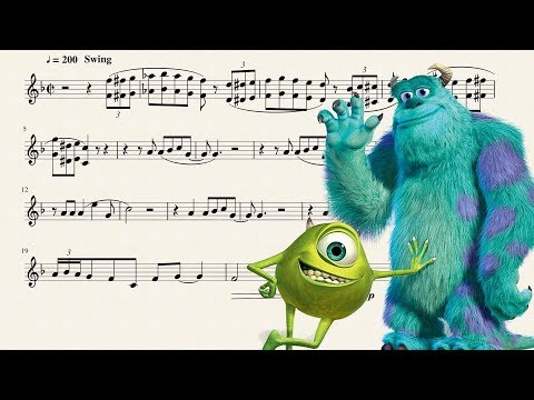 Monsters, Inc. for Bb Trumpet