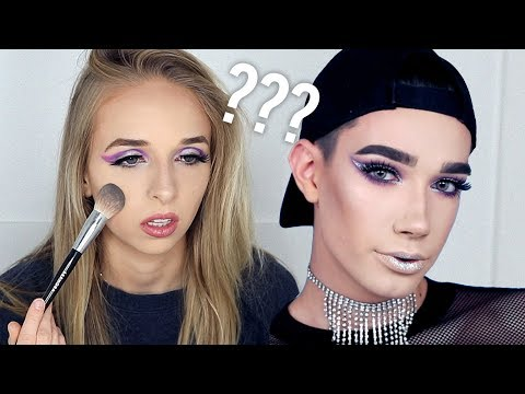 I TRIED FOLLOWING A JAMES CHARLES MAKEUP TUTORIAL