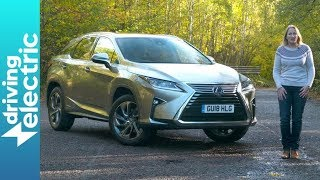 Lexus RX 450h hybrid SUV review - DrivingElectric