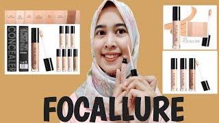 ORIGINAL PRODUCT Konseler Wajah Cair Focallure Liquid Concealer Stick Cream Make Up Full Coverage