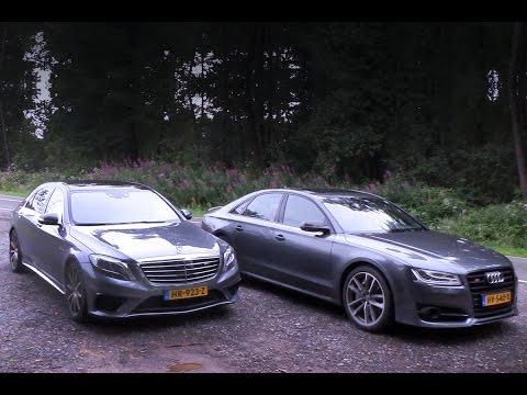 MERCEDES-AMG S63 vs AUDI S8 PLUS! VLOG #60