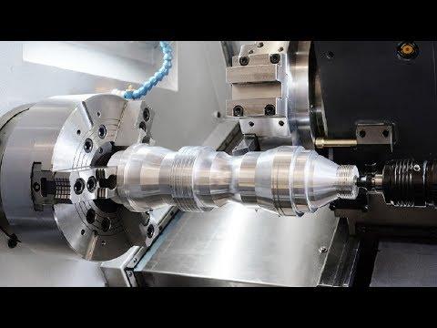 Fastest CNC Lathe Turning Machine Working, Amazing CNC Milling Machine Modern Technology