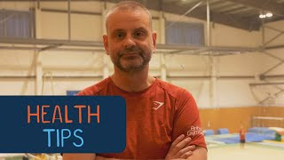 Chris Tomlinson's tips for health