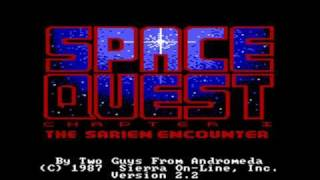Space Quest 1 AGI (1/4): Intro & escaping the Arcada