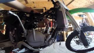 Kawasaki kx 85 2014  REBUILT
