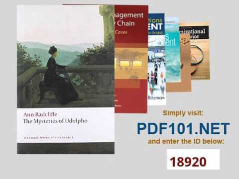 The Mysteries of Udolpho Oxford World's Classics