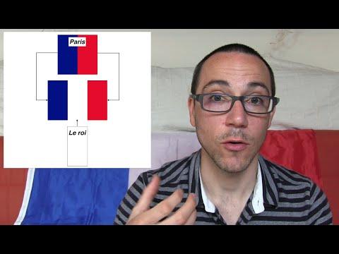Pourquoi le drapeau français est-il bleu, blanc et rouge ? (apprendre le français)