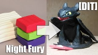 [DIT] How to Train Your Dragon -  Night Fury (Toothless)