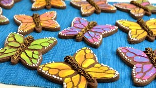 MONARCH BUTTERFLY COOKIES ! collab with SWEETAMBS